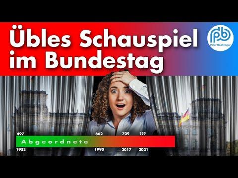 Riesen-Bundestag mit über 800 Mitgliedern? – Boehringer Klartext (119)