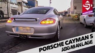 Sidney Industries | Porsche Cayman S | Abgasanlage