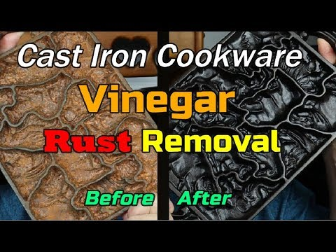 Vinegar Rust Removal