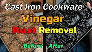 Vinegar Rust Removal