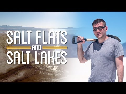 Salt Flats and Salt Lakes | How to Make Everything