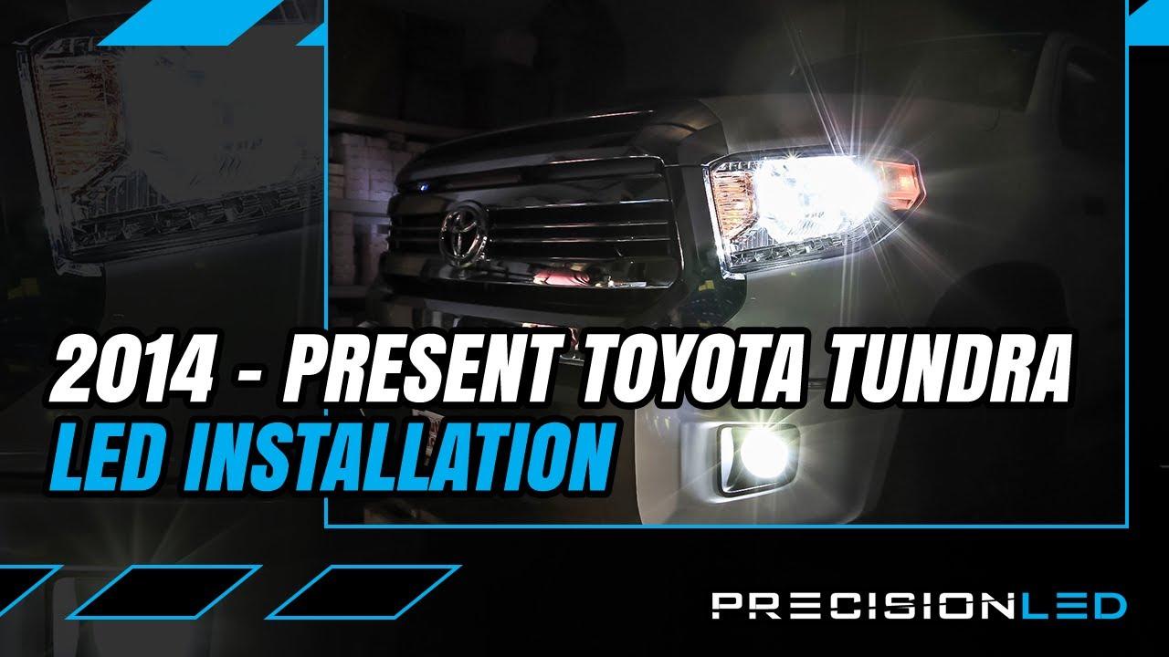 Toyota Tundra Led Headlights How To Install 3rd Gen 2014 Youtube Fog Light Wiring