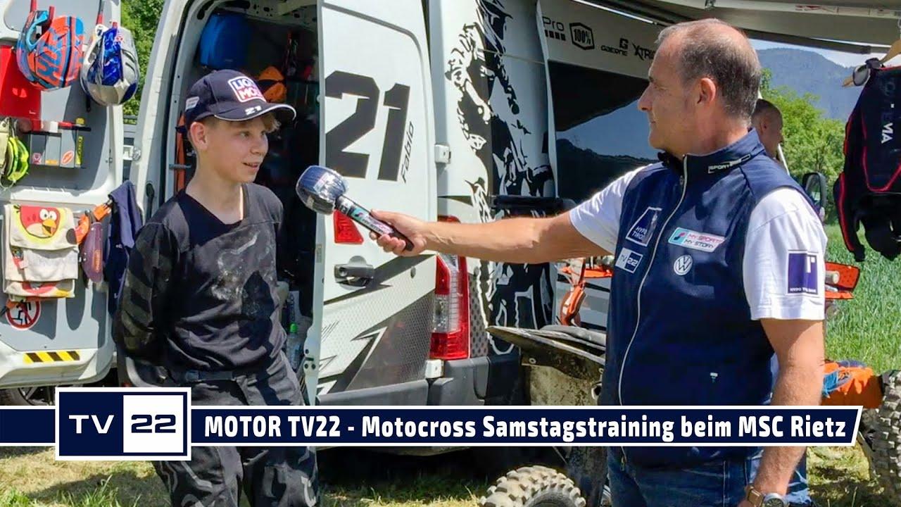 MOTOR TV22: Motocross Samstagstraining beim MSC Rietz