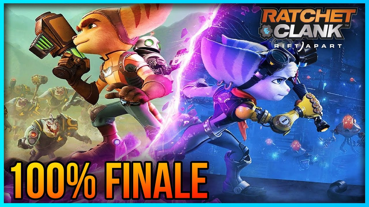 Ratchet and Clank: Rift Apart 100% FINALE