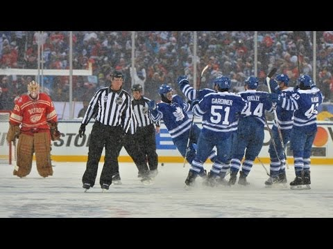 Winter Classic Shootout: Maple Leafs vs Red Wings