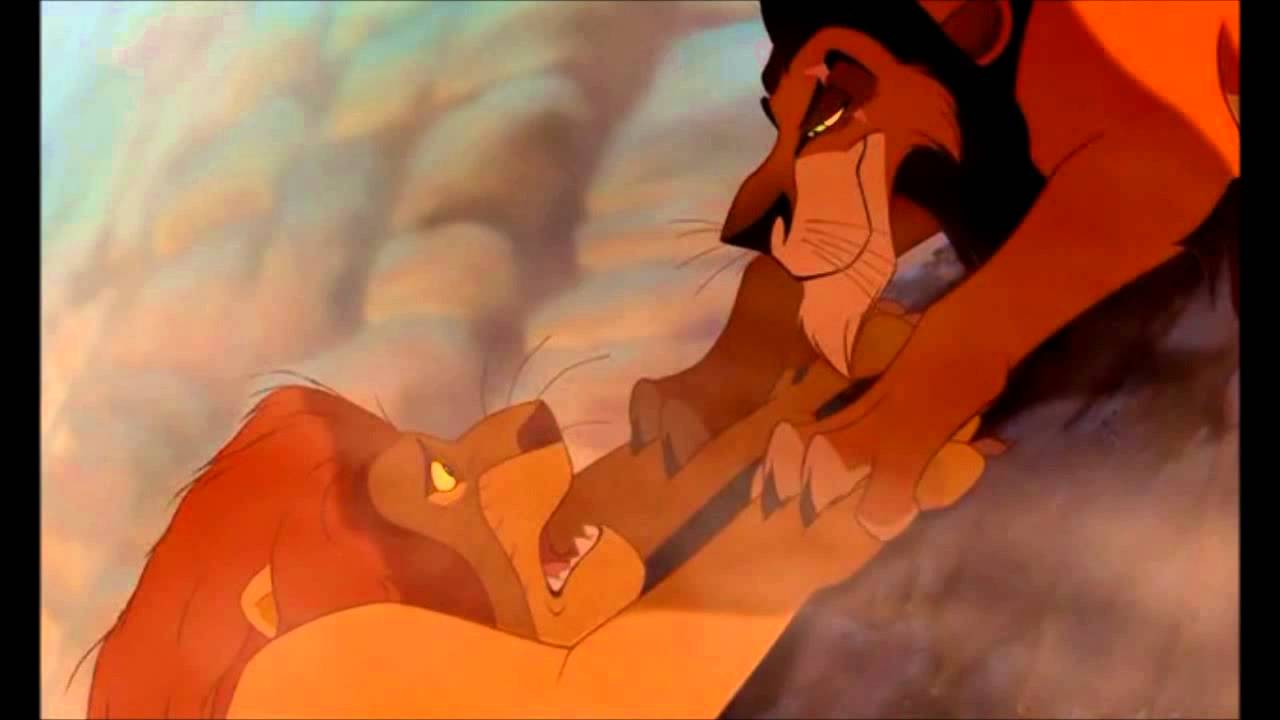Lion King Scar And Mufasa Scar hermano - YouTube