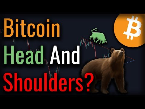 Bitcoin Crashed AGAIN - Could This Head And Shoulders Pattern Crash Bitcoin?