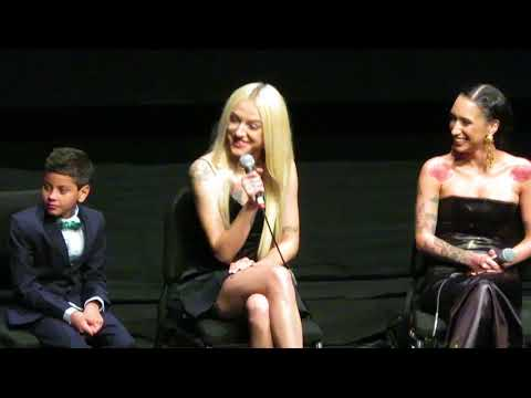 The Florida Project - NYFF Premiere Q&A - 10/2/17 -  Willem Dafoe, Brooklynn Prince