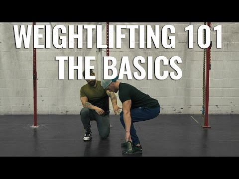 HOW TO WEIGHTLIFTING! The Basics