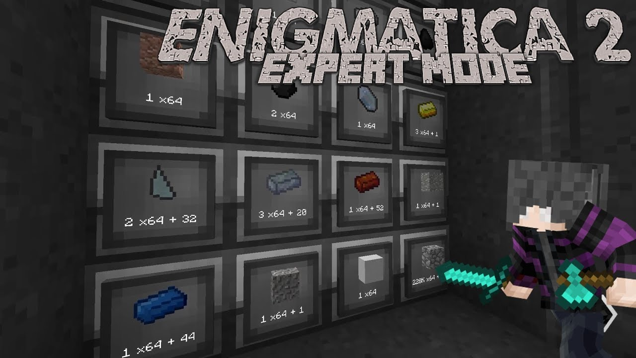 Enigmatica 2: Expert | Episode 92 | Black Hole Storage