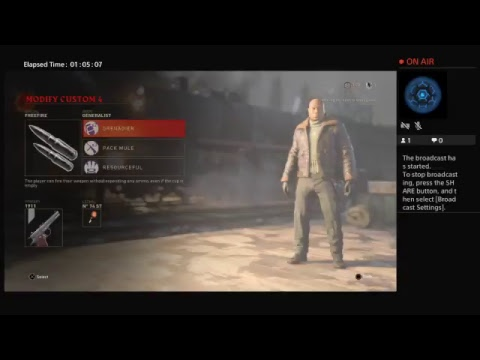 unk's Live PS4 Broadcast
