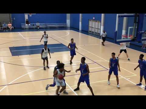 UNC Commit Coby White Drops 50 on 4A Power North Mecklenburg At The ECI 2017 !!! Raw Footage!!