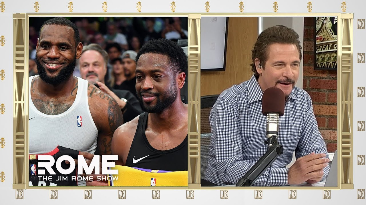 LeBron and D-Wade final matchup | The Jim Rome Show
