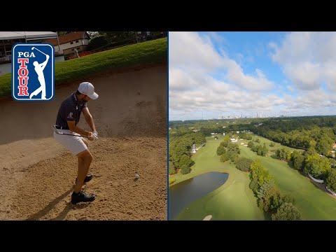 East Lake GC Flyover | Yes, the ending really happened 😮