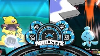 Mono-Generation Pokemon ORAS Roulette Free For All: Go Ahead & Uh...
