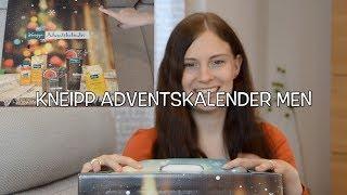 Kneipp Adventskalender MEN | 24 Türchen Unboxing + Verlosung!!!🍀