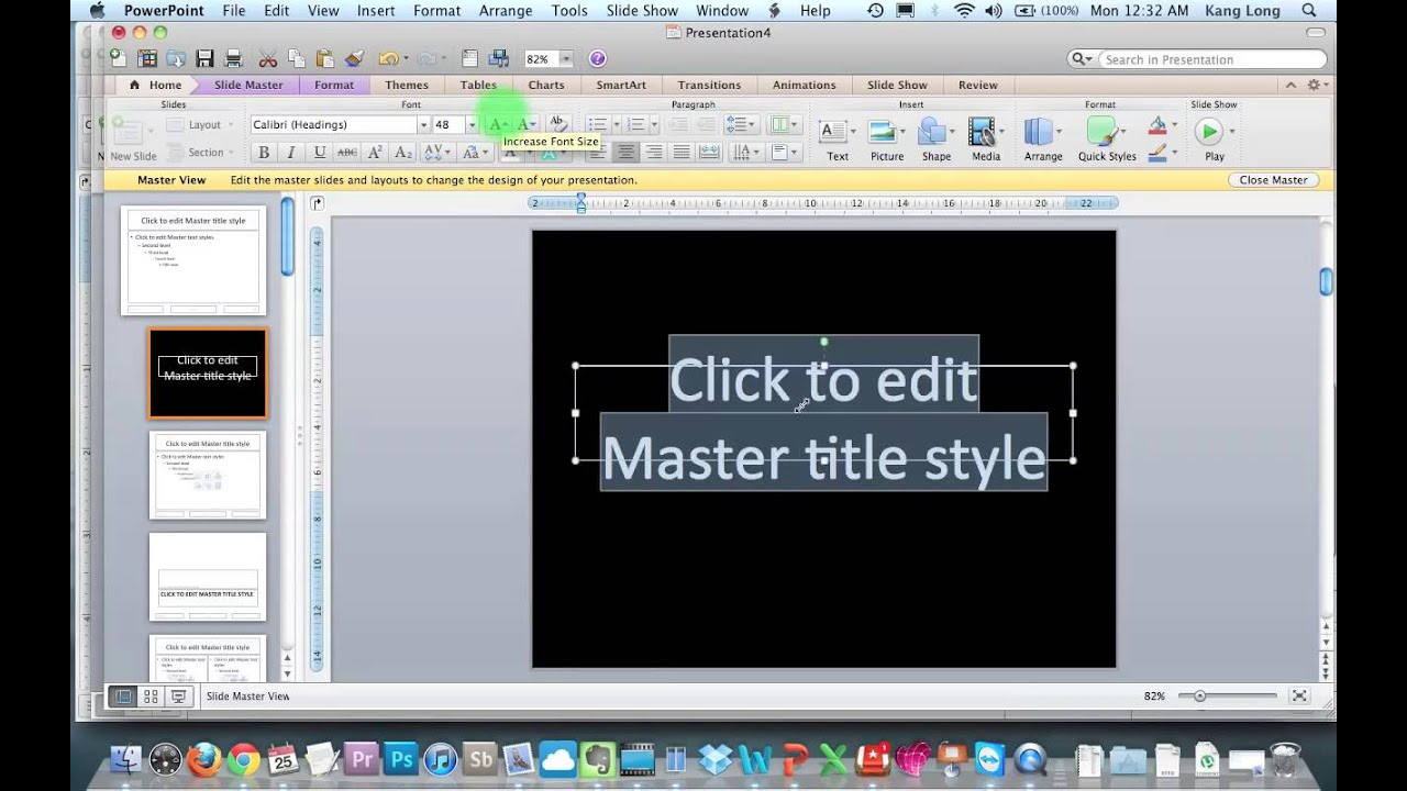 how to make a powerpoint on a mac