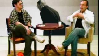 Filósofo Jean-Paul Sartre em debate no Loucuras Filosóficas do Alexandrelli (Hora da Coruja)
