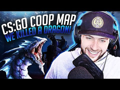 WE SLAYED A DRAGON IN CS:GO (Co-op Mission Haunted)