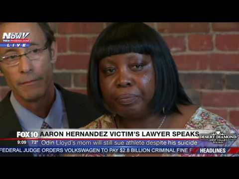 Odin Lloyd's Mother Will Continue With Lawsuit Despite Aaron Hernandez Suicide FULL PRESS CONFERENCE