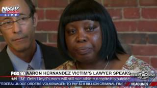 FNN: Odin Lloyd's Mother Will Continue With Lawsuit Despite Aaron Hernandez Suicide PRESS CONFERENCE