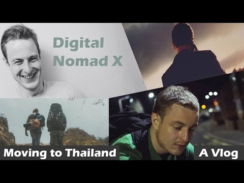 The Economics of Digital Nomadism - Moving to Thailand 2015 (Vlog #15)