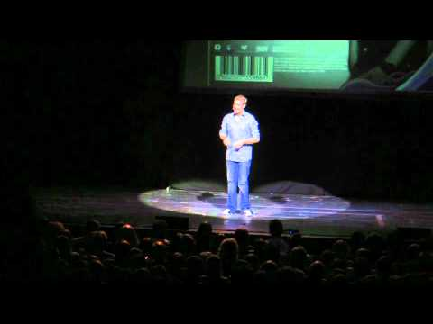 Matt Parker: Stand-up Maths Routine (about barcodes)