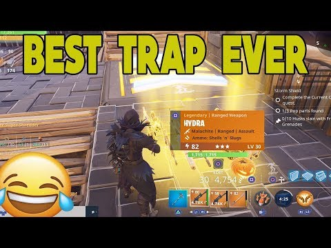 SMART Scammer Gets Scammed Best Trap EVER in Fortnite Save The World PVE