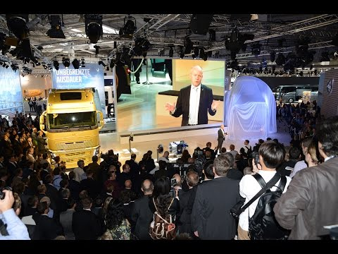 Volvo Trucks - Press Conference from IAA in Hannover, 2014