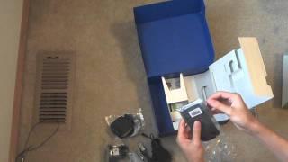 unboxing nokia e72 with navigation kit black