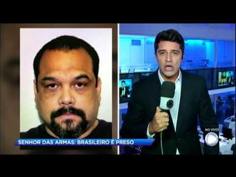 Homem acusado de ser o maior traficante de armas do Brasil é preso nos Estados Unidos
