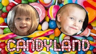 How to Play Candy Land!  A Fun Board Game! with Kinder Playtime Kids!