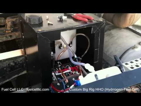 Big Rig Hydrogen Fuel Cell / Tractor Trailer Hybrid