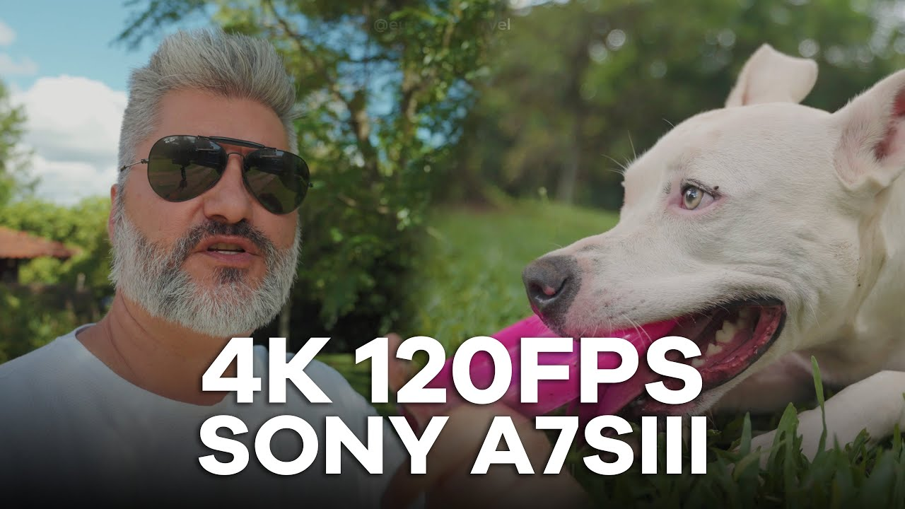 [Review] 4K 120fps da Sony A7SIII é bom?