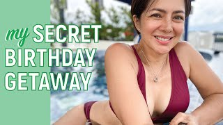 Secret Birthday Getaway // Alice Dixson