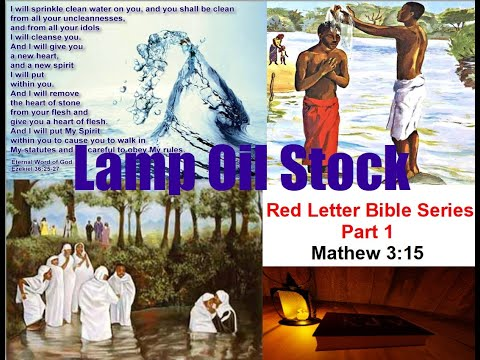 Red Letter Bible Series Part 1
