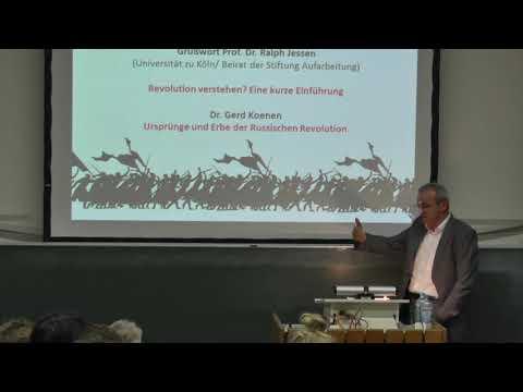 Ursprünge und Erbe der Russischen Revolution von Dr. Gerd Koenen (Frankfurt)