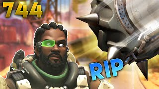 JEBAIT RIP-Tire FOR THE WIN!! | Overwatch Daily Moments Ep.744 (Funny and Random Moments)