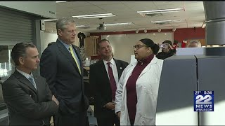Gov. Baker announces grant for cyber security programs at Bay Path University
