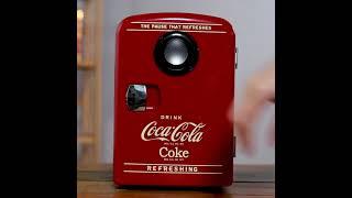 코카콜라 6캔 미니 냉장고 4L