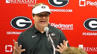 Kirby Smart Georgia-Florida Post-Game Press Conference: Saturday, November 2, 2019
