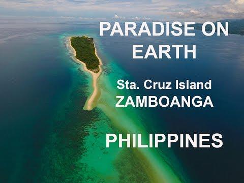 Sta. Cruz Island, Zamboanga Philippines. Paradise on Earth