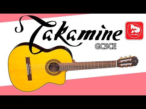 Классическая гитара TAKAMINE GC5CE с подключением