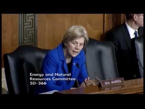 Senator Elizabeth Warren - Energy Efficiency Legislation