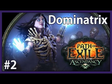 Summoning Raging Spirits - Ep. #2 - PHC Flashback Dominatrix Witch - Path of Exile (v2.2.2c)