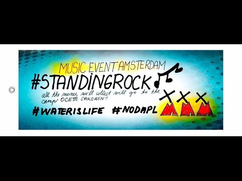 Music Event Amsterdam in solidarity with Standing Rock
