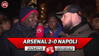 Arsenal 2-0 Napoli | I'm Proud Of The Team But We Should Have Buried The Tie Today! (DT)