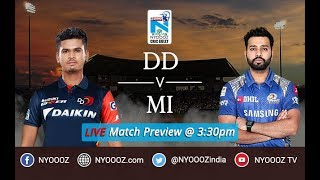 Ipl 2018 mumbai vs delhi live match show | mi vs dd live match preview