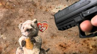 h p30 airsoft tested out on a rat