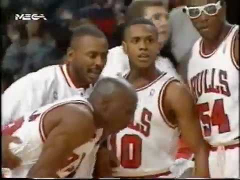 1993 NBA playoffs ecsf game 1 Cleveland Cavaliers-Chicago Bulls
